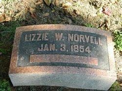 "Elizabeth Waller ""Lizzie"" <I>Sturgeon</I> Norvell"