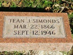 Tean J Simonds