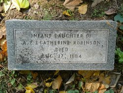 Infant Daughter Robinson