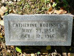 Catherine <I>Carver</I> Robinson