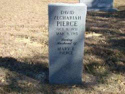 """David Zachariah-Zechariah """"DZ"""" Pierce"""