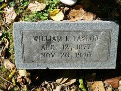 William Edwin Taylor