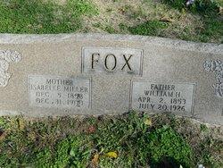 Isabelle <I>Miller</I> Fox