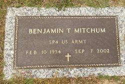 """Benjamin Travis """"Bennie"""" Mitchum"""