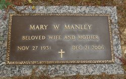 Mary <I>Weathers</I> Manley