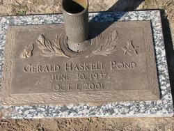 Gerald Haskell Pond