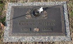 Katherine M. <I>Totten</I> Hayes