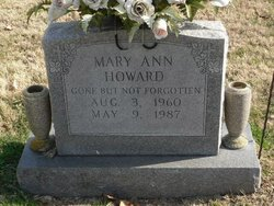 Mary Ann Howard