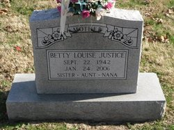 Betty Louise Justice