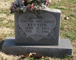 Eugenia May <I>Jones</I> Kenyon