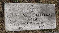 """Clarence E. """"Uncle Monk"""" Litteral"""