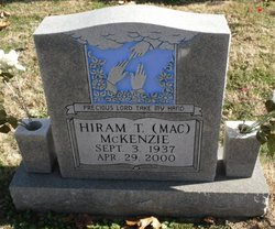 """Hiram T. """"Mac"""" McKenzie"""