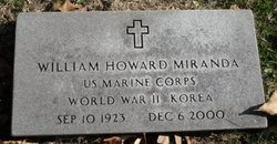 William Howard Miranda