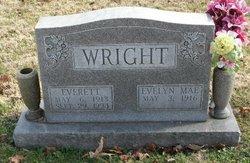 Evelyn Mae <I>Nichols</I> Wright