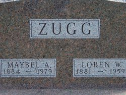 Maybel A <I>Schlotterback</I> Zugg