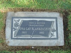Ona Gay <I>Crow</I> Blankenship