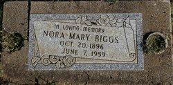 Nora Mary <I>Frame</I> Biggs