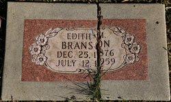 Edith M Branson
