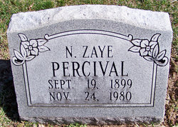 Nellie Zaye <I>Gulick</I> Percival