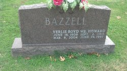 Verlie <I>Boyd</I> Bazzell