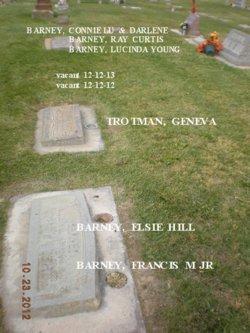 Elsie L <I>Hill</I> Barney