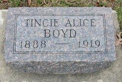 Tincie Alice <I>McDaniel</I> Boyd