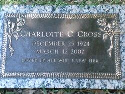 Charlotte <I>Jones</I> Cross