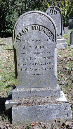 Mary <I>Towner</I> Jones