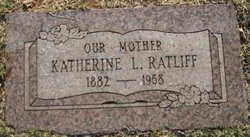 Katherine L. <I>Underwood</I> Ratliff