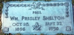 "William Presley ""Pres"" Shelton"
