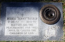 """Mamie """"Jenny"""" Becker"""