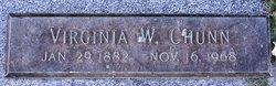 Virginia Ida <I>Williams</I> Chunn