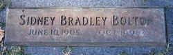 Sidney Bradley Bolton