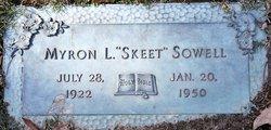 "Myron L ""Skeet"" Sowell"