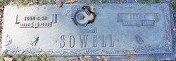 John C Sowell, Sr
