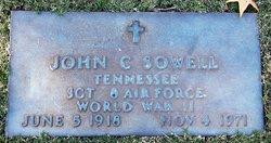 Sgt John Cleveland Sowell