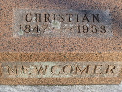 Christian Newcomer, Jr