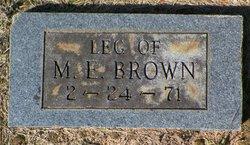 M E Brown