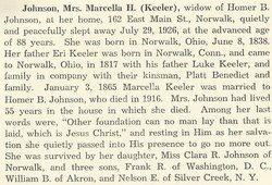 Marcella H. <I>Keeler</I> Johnson