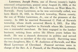 """Joseph Perry """"Perry"""" Lawrence"""