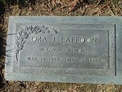 Rev Ora Joseph Laffoon