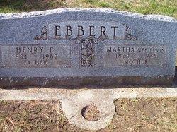 """Henrich Friedrich """"Henry"""" Ebbert"""