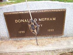 Donald D Mepham