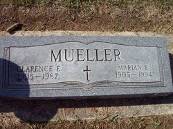 Clarence F Mueller