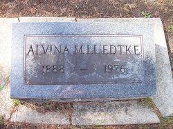Alvina M <I>Marzillier</I> Luedtke