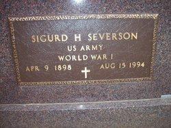 Dr Sigurd H Severson