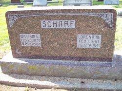 William E Scharf