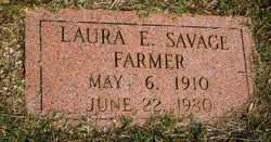 Laura E <I>Savage</I> Farmer