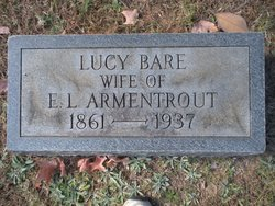 Lucy H <I>Bare</I> Armentrout