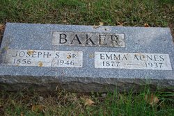 Emma Agnes <I>Baker</I> Baker